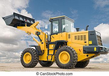 front end loader machine