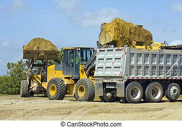 Front end loaders