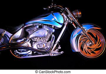 custom - front end of custom bike