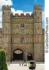 Front entrance Battle Abbey Battle