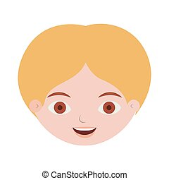 front face man with blond hair