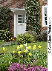 Front garden of a house