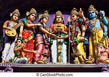 front, hinduski rozciągacz