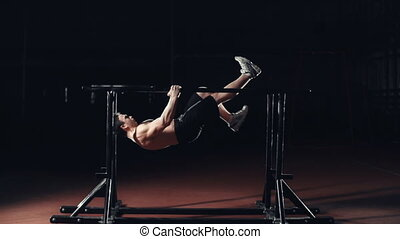 Front Lever into Back Lever Air Wal