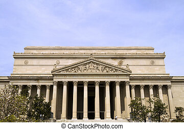 Front of National Archives