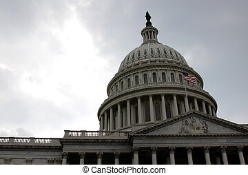 Front of the Capitol Building