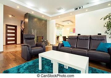 Front room - Picture of new fashionable front room