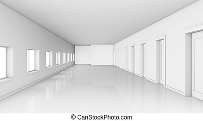 large corridor