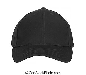 Front View of Black Cap