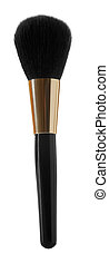 black cosmetics brush