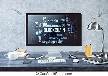 Digital market concept