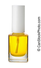 Front view of cuticle oil bottle