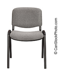 Front view of office chair