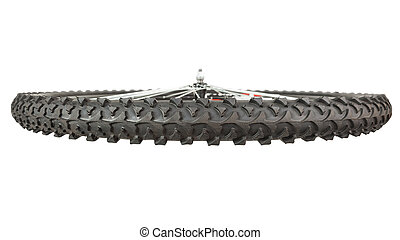 Front wheel mountain bike