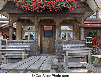 wooden house in the Black Forest