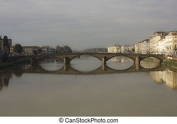 Carraia bridge in Florence