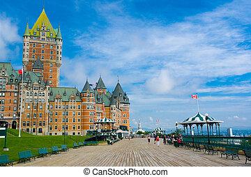 frontenac, 城, ケベック