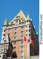 frontenac, 城, ケベック 都市