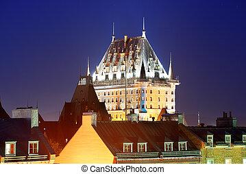 frontenac, chateau