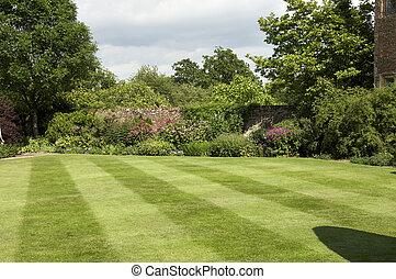frontera, jardín