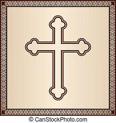 frontière, croix