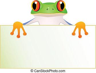 frosch, bringen vorzeichen bank