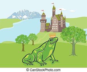 Frosch mit Krone.eps