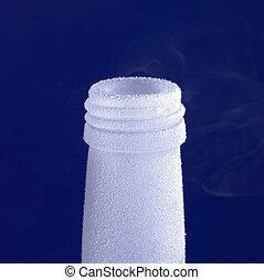 frosed bottle tip