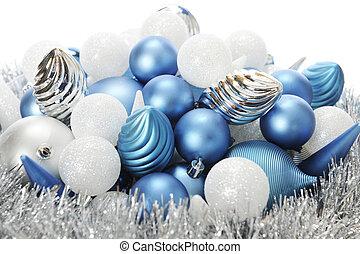 frost-colored, weihnachten, birnen