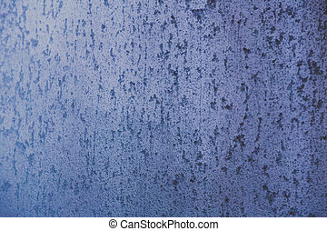 frosted window glass with ice texture background shot with...