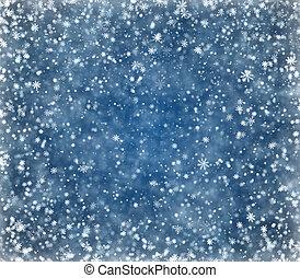 Frosty winter background