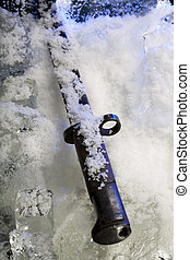 Frozen bayonet