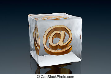Frozen email