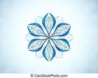 Frozen flower/Crystal flower