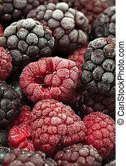 Frozen forest fruit