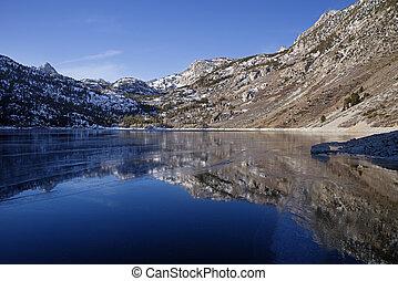 frozen lake, sabrina