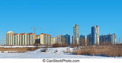 construction of apartment complex