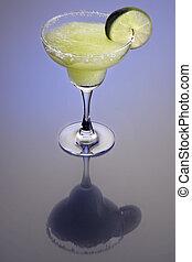 Frozen Marguerita Cocktail - Frozen Margarita mixed drink...