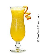 Frozen orange drink