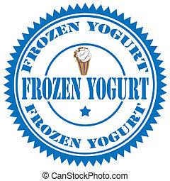 Frozen Yogurt-stamp