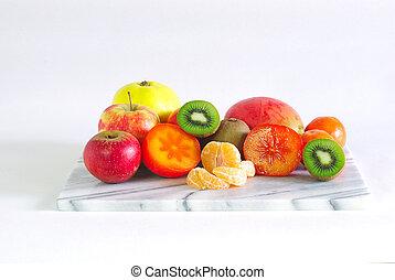 frucht servierplatte