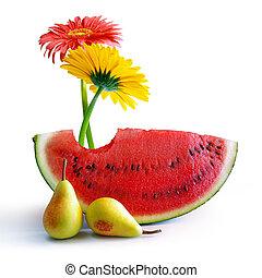 fruehjahr, wassermelone