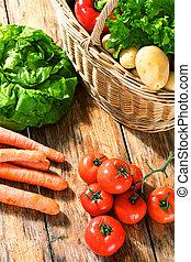 frugt, og, grønsager