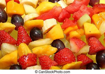 fruité, fond