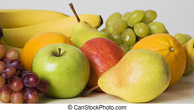 Fruit abundance - an array of fruit for healthy eating