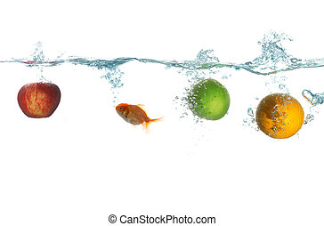 Fruit and fish