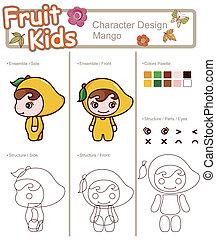 Fruit and Kid Mango