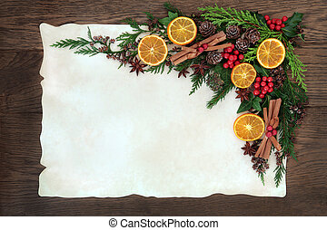 Fruit and Spice Border