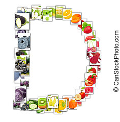 Fruit and Vegetable Letter