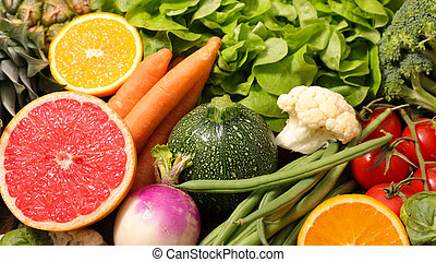 fruit and vegetable, low calorie